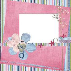 ScrapBook风格儿童写真模板(3)