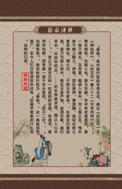 中医文化建设图片_中医文化建设展板设计杏林史话(图片编号:10515240)_医院展板设计 ...