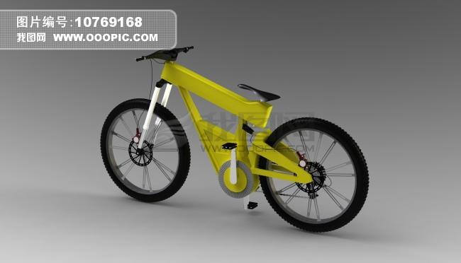 电动自行车模型