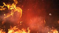 高清火焰动态背景素材