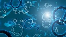 医学精子游动染色体图形高清视频背景素材