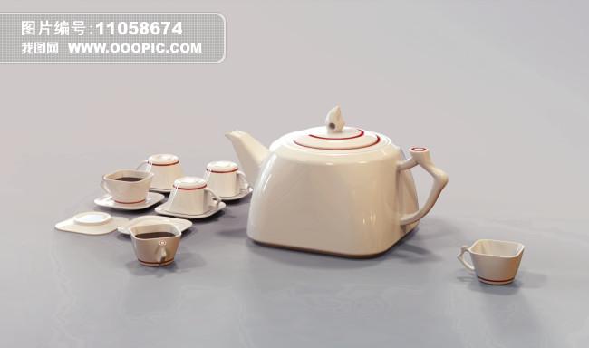 (原创)中国风茶壶设计