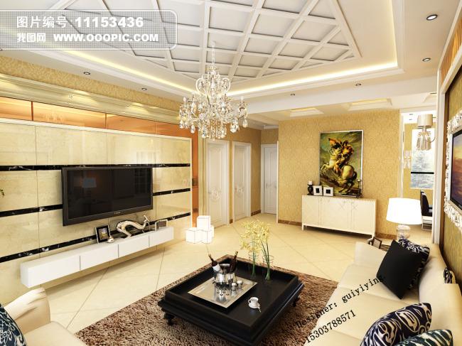 石材玻璃电视背景墙 带阳台的卧室图片