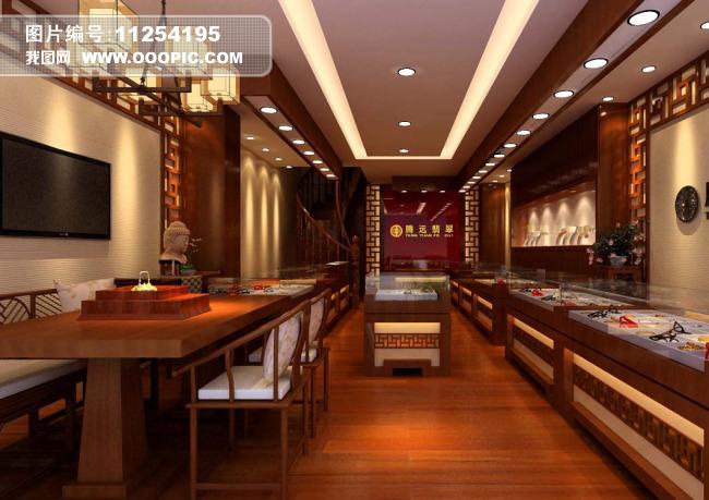 珠宝店3d模型