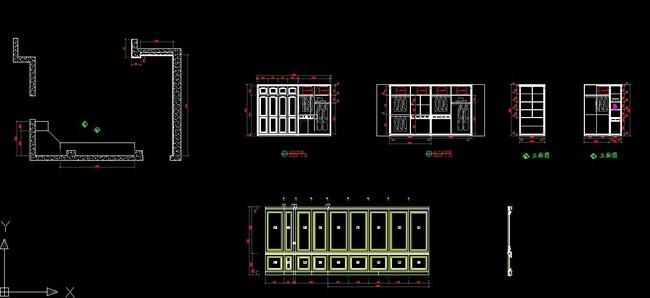 cad衣柜图纸平面设计图下载(图片0.07mb)_柜子图纸_全