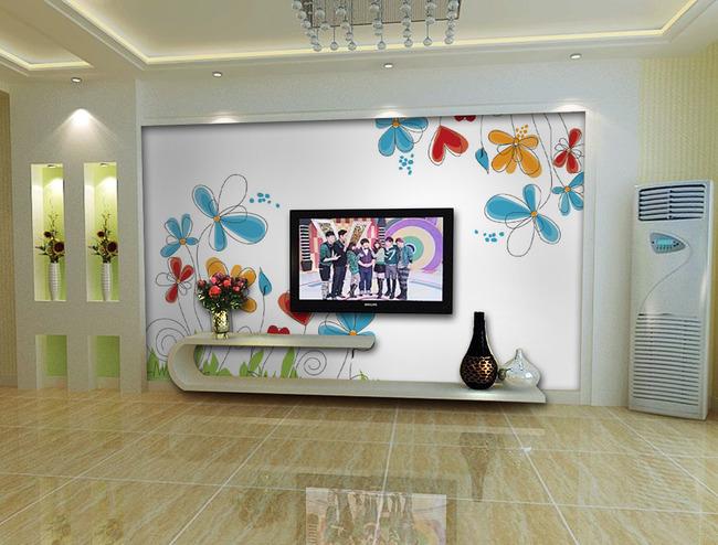 客厅电视背景墙图片设计