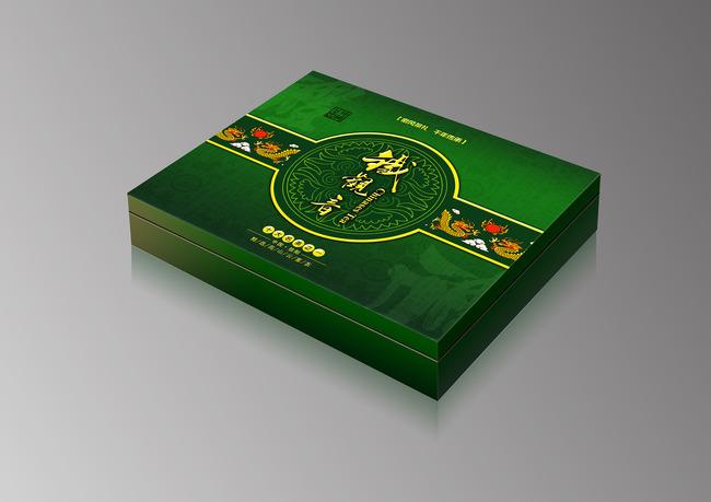 茶叶礼盒包装设计平面图