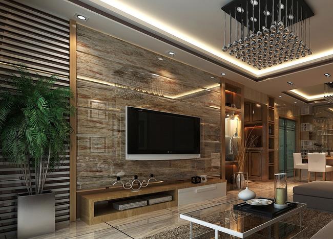cad图库 家具设计图纸 柜子图纸 > cad电视背景墙施工图效果图  版权