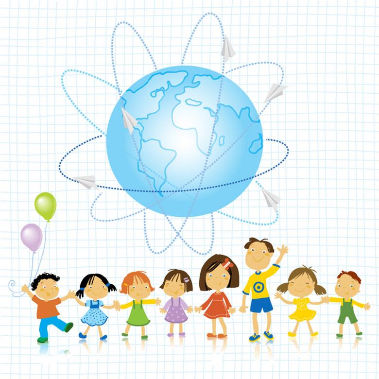 儿童节主题矢量素材 12086761 六一儿童节