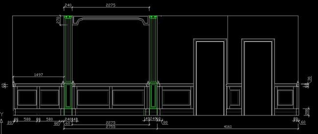 cad整木家装图纸2平面设计图下载(图片0.88mb)_全套