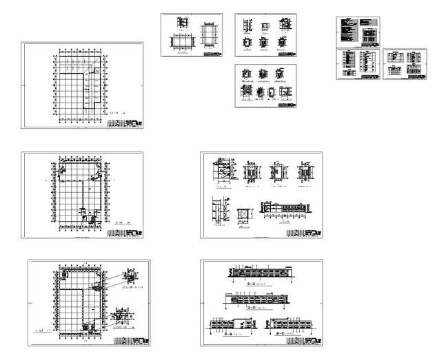 工业院景观建筑方案cad图纸设计下载