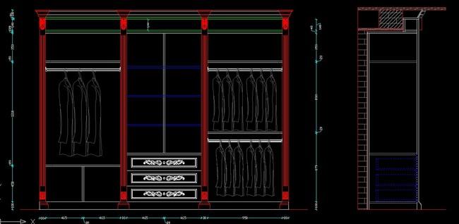 我图网提供精品流行实木板式衣柜生产图纸CAD衣柜立面图素材下载,作品模板源文件可以编辑替换,设计作品简介: 实木板式衣柜生产图纸CAD衣柜立面图,,使用软件为 AutoCAD 2007(.dwg) 实木衣柜 板式衣柜 组装衣柜 衣柜门 岛台 衣柜生产图纸 转角衣柜 CAD衣柜 CAD立面图 家具设计 室内设计 装饰柜 玻璃柜门