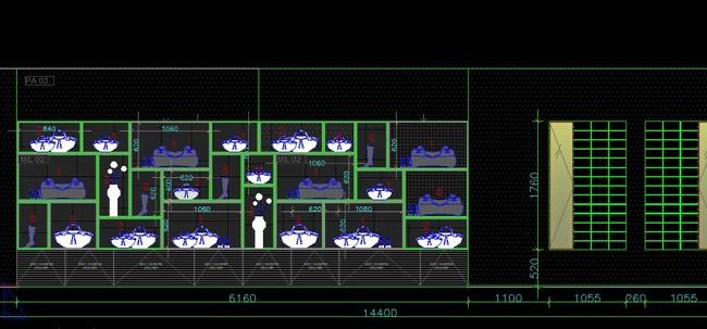 香港服装店施工图平面设计图下载(图片29.25mb)_工装