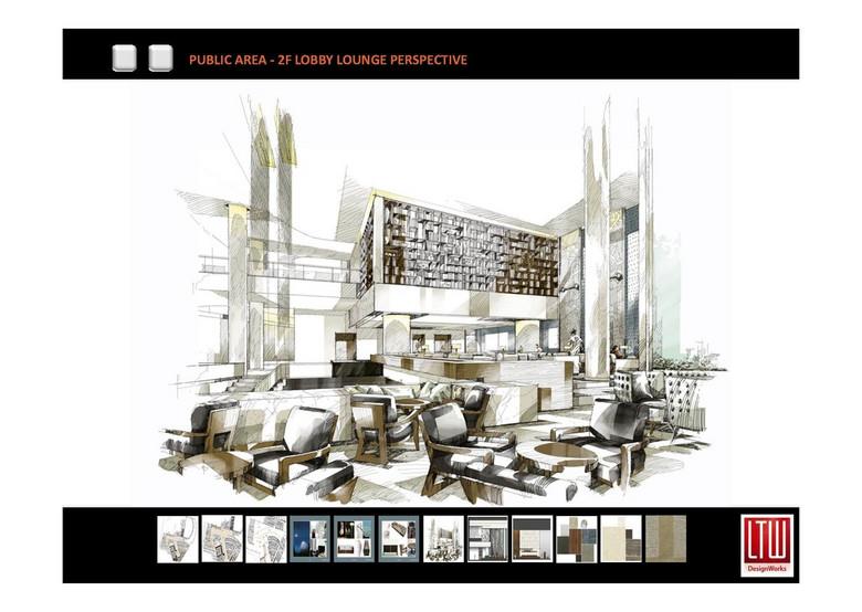 LTW 大连君悦酒店施工图 提案效果图平面设计图下载 481.98MB 酒店