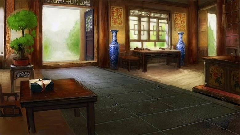 古代场景房间室内立绘游戏动画图片下载max素材 游戏动漫