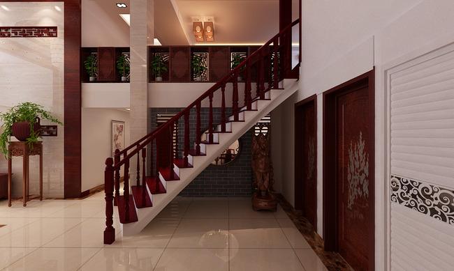 中式3d模型红木家具3d模型别墅