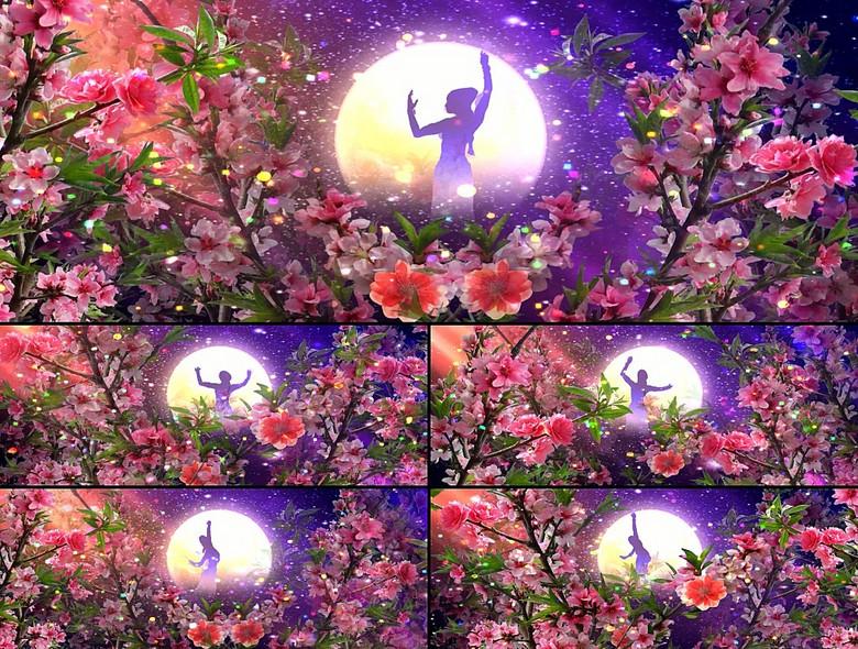中秋节嫦娥奔月视频