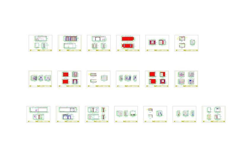 整套CAD施工图节点图