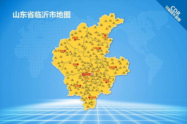 临沂地图 12586441 其他地图