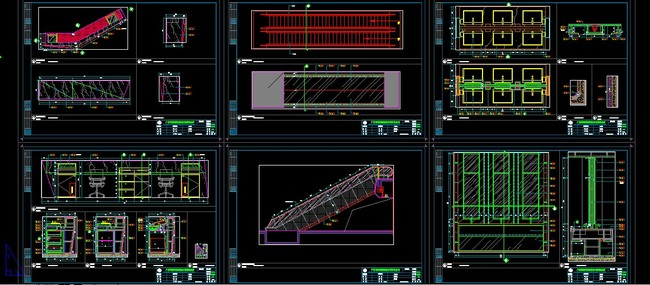 地标商场内装施工图 高清效果图