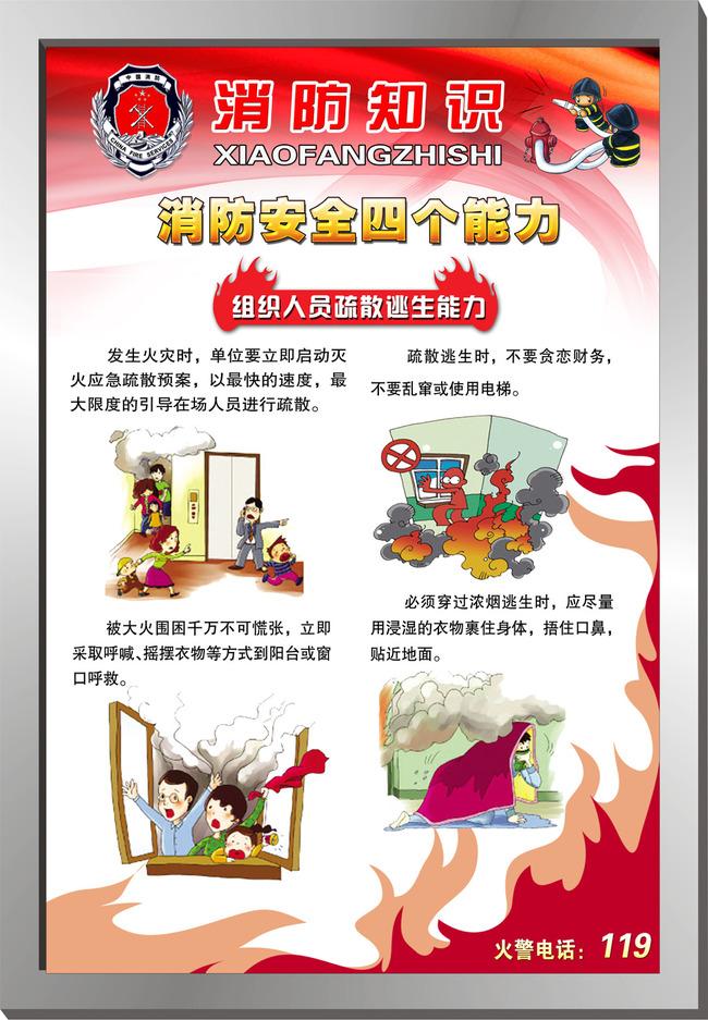 消防安全知识展板(图片编号:12770298)_其他展板设计