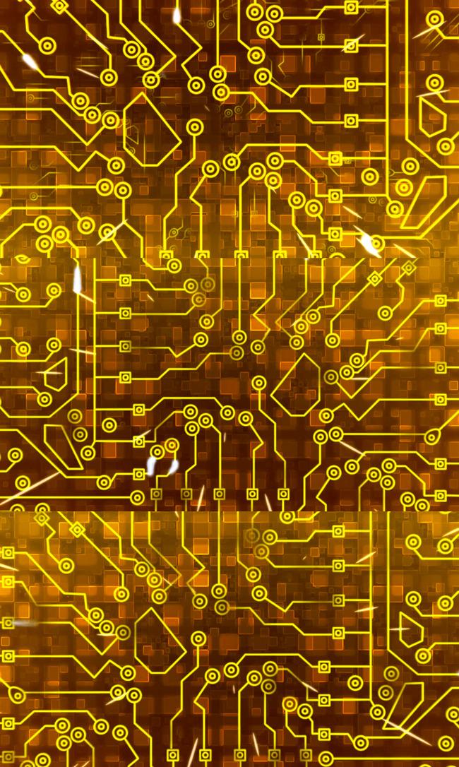 超高清集成电路芯片视频