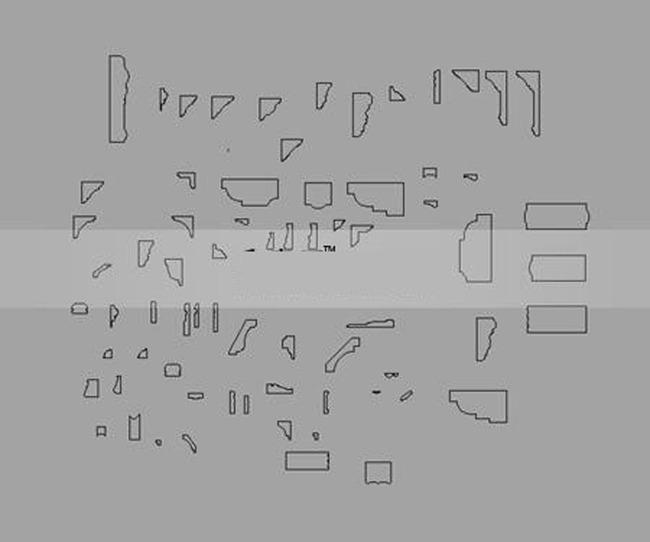 3dmax欧式石膏线路径大全图片下载max素材-其他模型图片