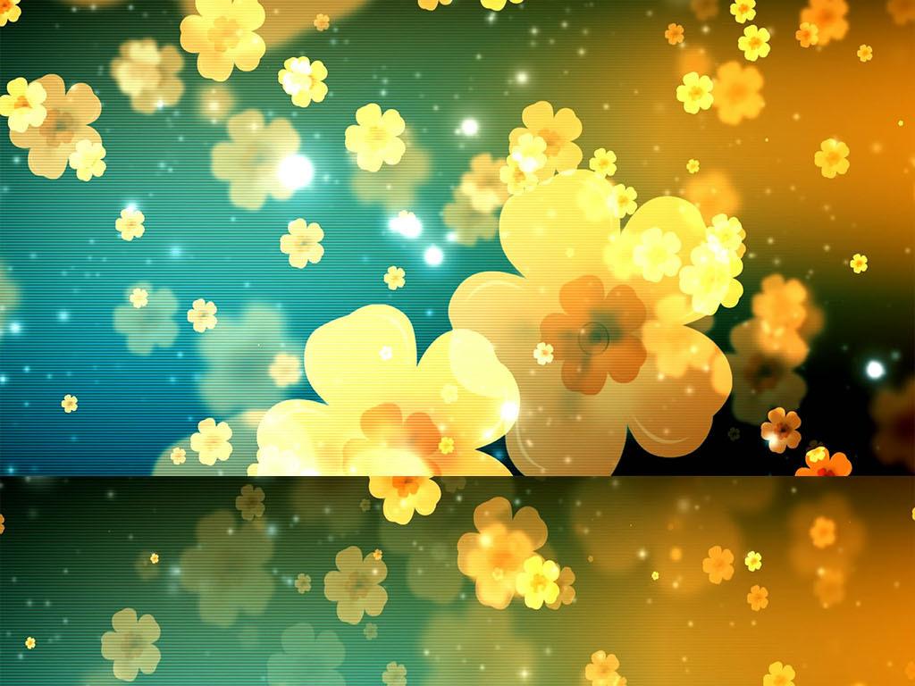 花瓣飘落动态背景高清视频素材模板 MP4格式下载 视频32.92MB LED视频 背景视频大全