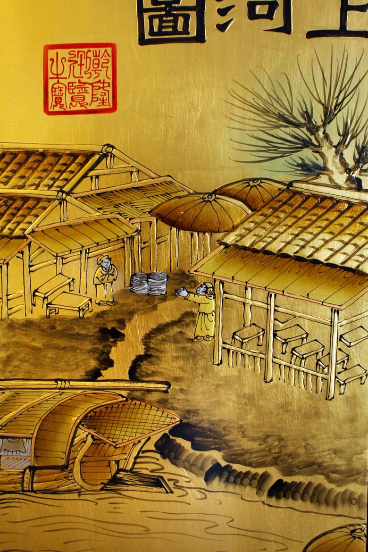 丰古代历史人物风景画图片