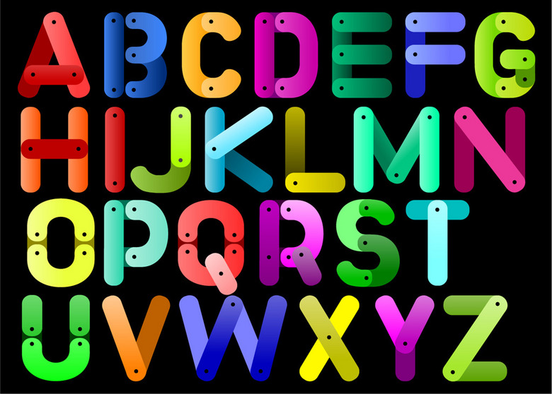 26个英文字母 13433793 艺术字体设计