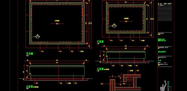 橱柜cad立面图欧式衣柜cad图纸衣柜内部结构设计图别墅cad平面图中空