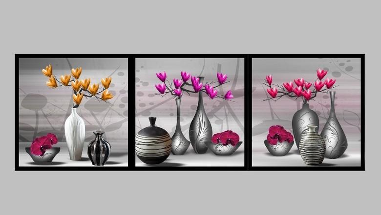 花瓶装饰画 13697928 静物无框画