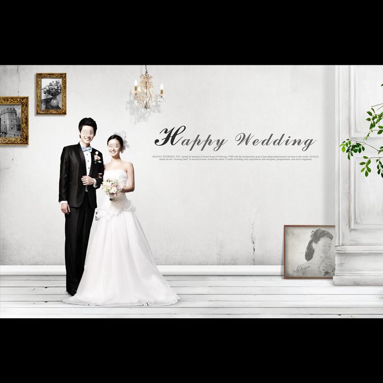 婚纱照展板_展板设计