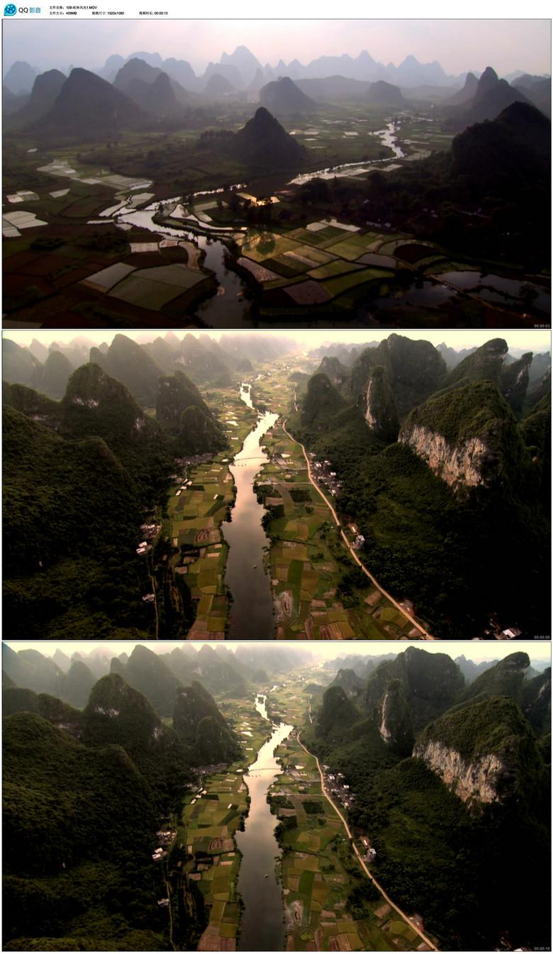 桂林山水视频素材