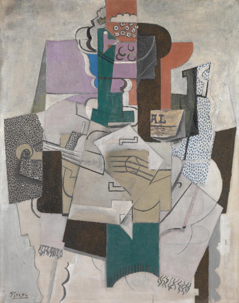 毕加索抽象画高清作品