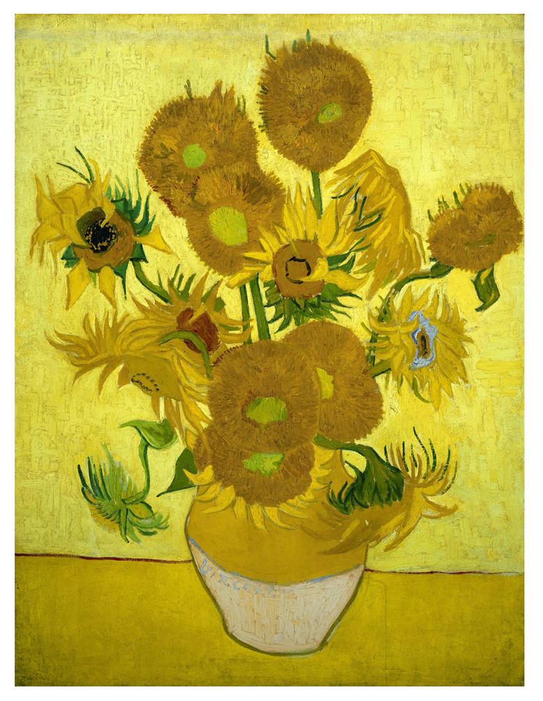 向日葵梵高经典作品代表作品