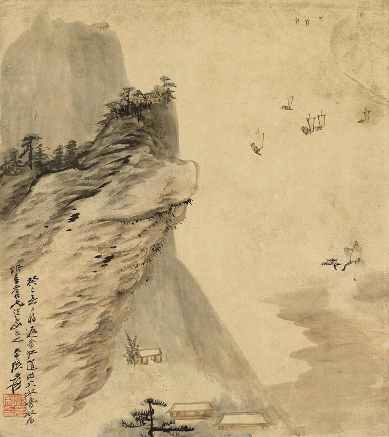 山水画高清大图 优秀作品