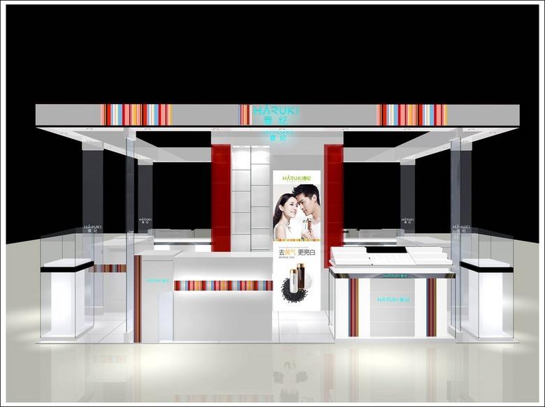 化妆品模型3D展示展厅.mrblankv模型字体图片