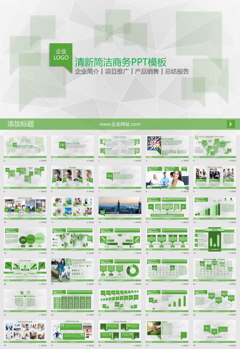 销售年度规划报告_企业简介项目推广产品销售报告ppt模板