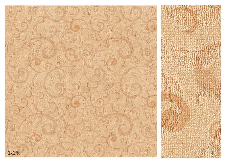 超高清地毯编织纹理吉祥云图案地毯砖