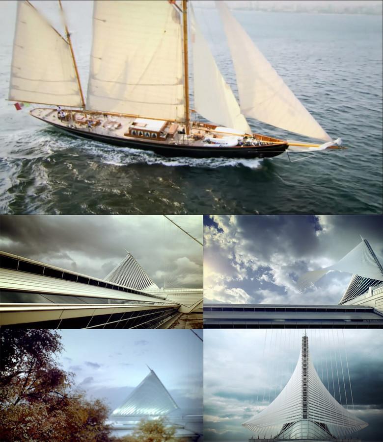 帆船乘风破浪