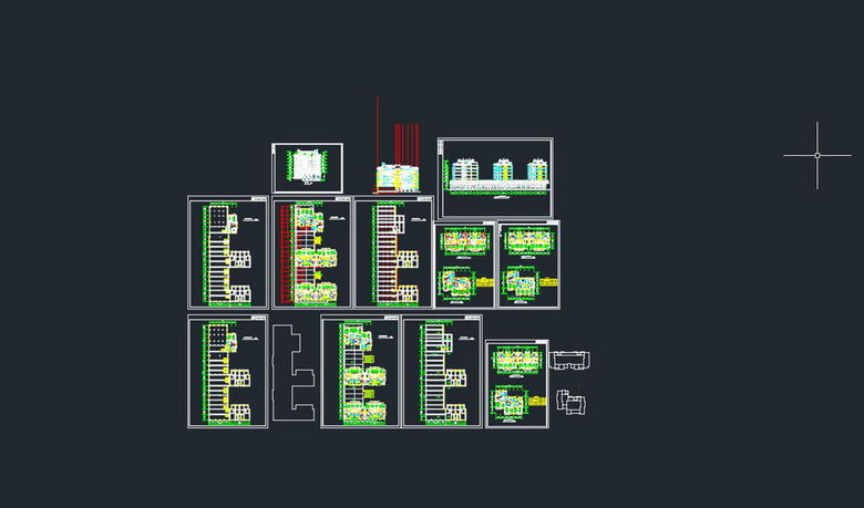 住宅楼CA下载图平面设计图建筑(图片0.74MB珠绣图纸挂件图片
