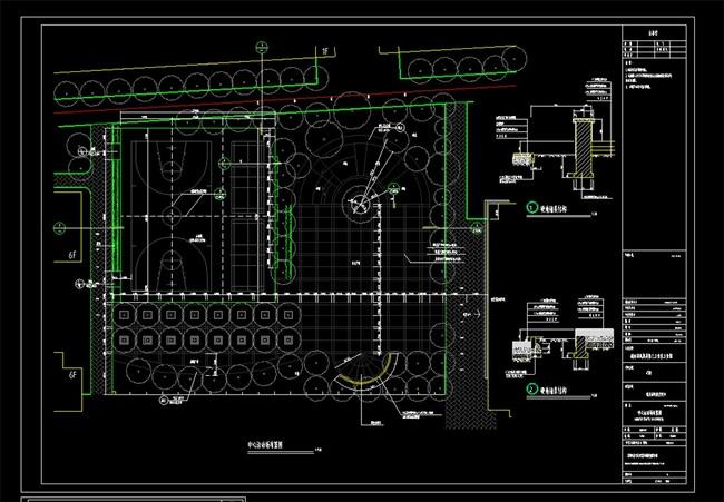 工业园cad设计图