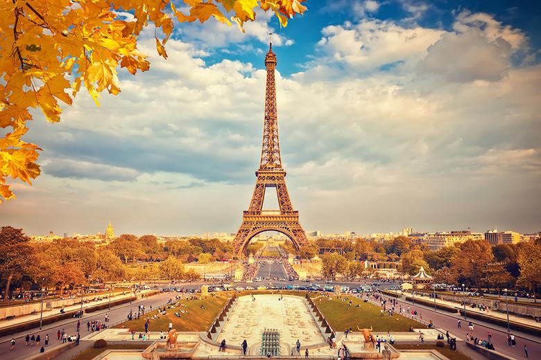 法国巴黎埃菲尔铁塔风景图图片