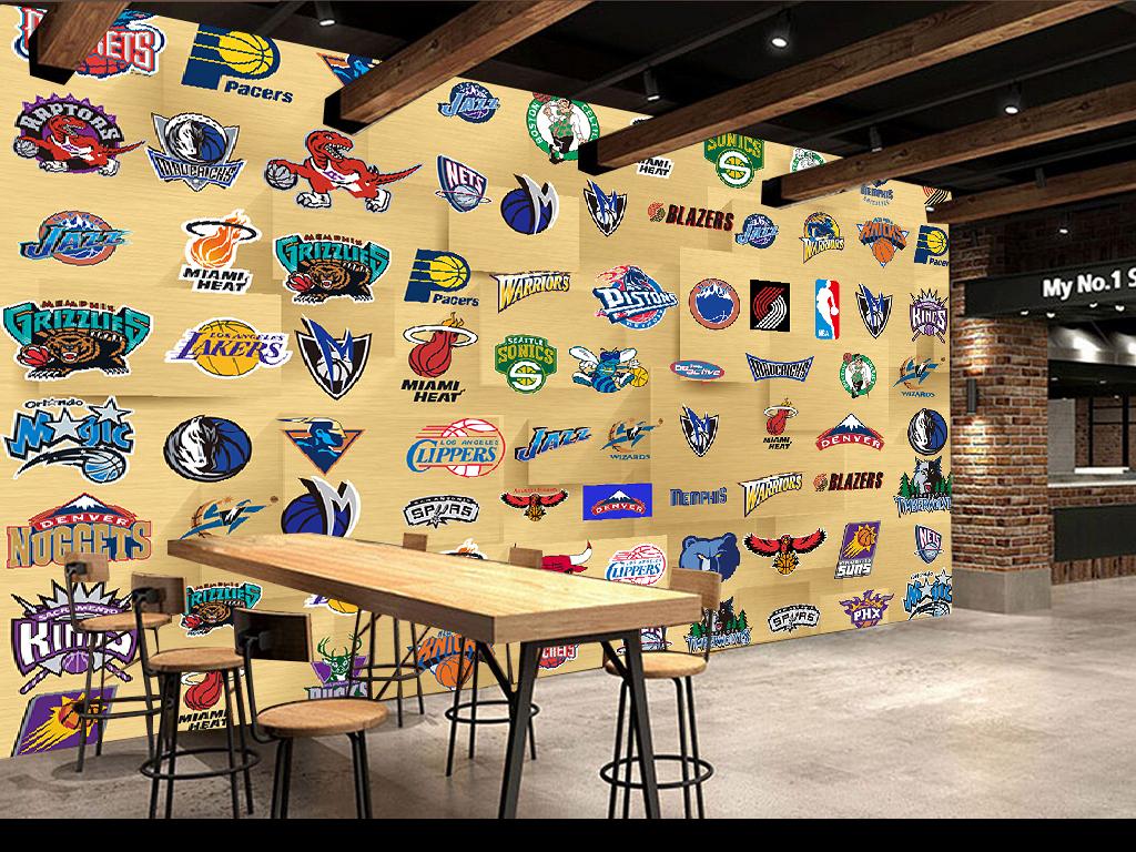 """【本作品下载内容为:""""美国NBA队标队徽木板墙壁电视背景墙""""模板,其他内容仅为参考,如需印刷成实物请先认真校稿,避免造成不必要的经济损失。】 【声明】未经权利人许可,任何人不得随意使用本网站的原创作品(含预览图),否则将按照我国著作权法的相关规定被要求承担最高达50万元人民币的赔偿责任。"""