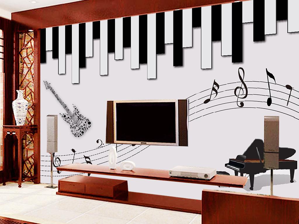 欧式古董彩绘钢琴