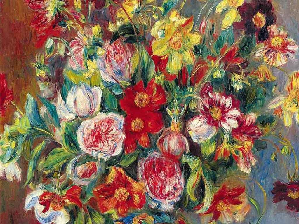 玄关花卉古典油画静物效果图 14972892 山水花鸟玄关图效果图