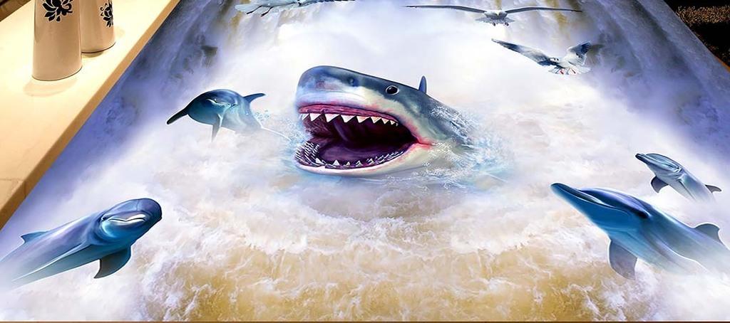 3d手绘鲨鱼图片大全