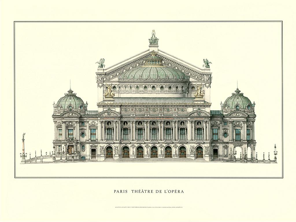 欧式古典手绘建筑客厅四联有框画装饰画挂画
