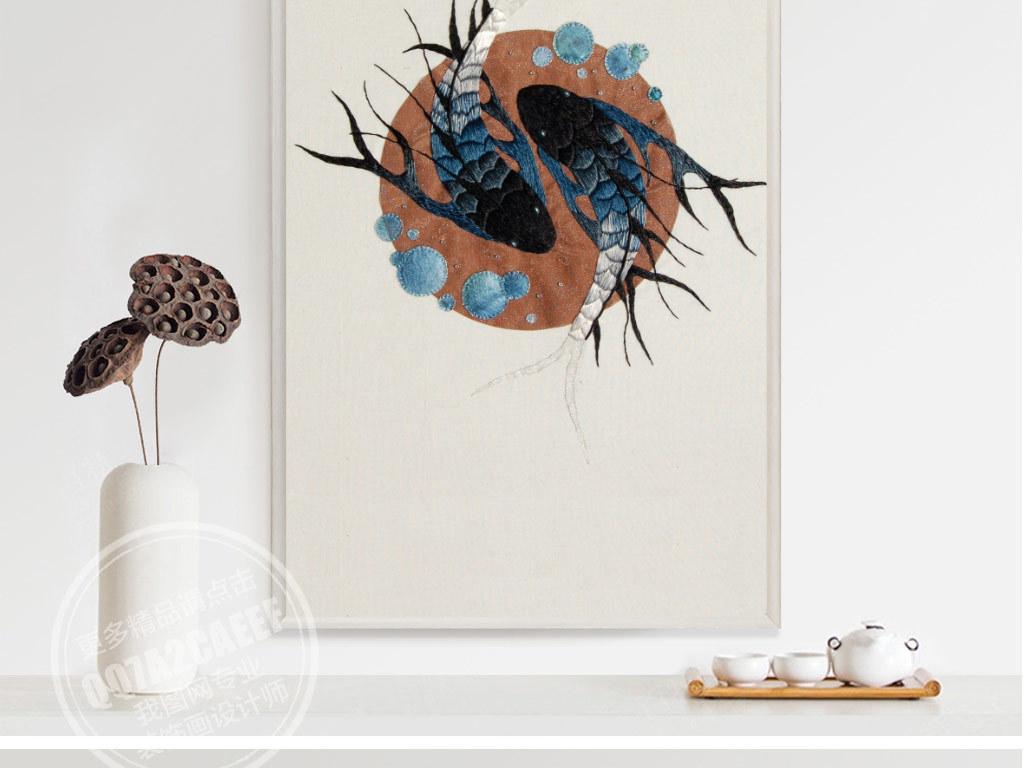 欧式手工刺绣花鸟无框画高清图片下载(图片编号)动物